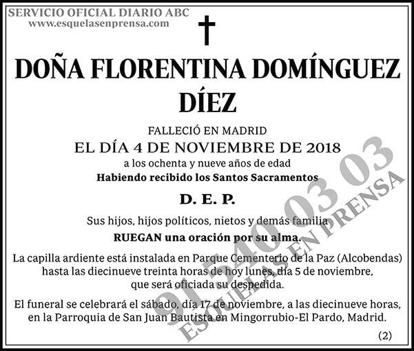 Florentina Domínguez Díez